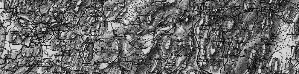 Old map of Carmel in 1899