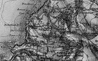 Old map of Carnyorth in 1895