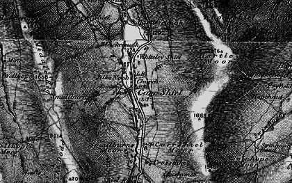 Old map of Whiteley Shield in 1897