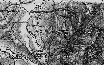 Old map of Whittle in 1897