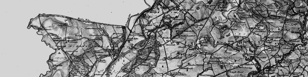 Old map of Todhillwood in 1897