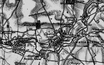 Old map of Bailey Gate in 1898