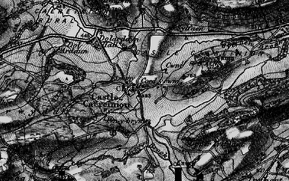 Old map of Y Figyn in 1899