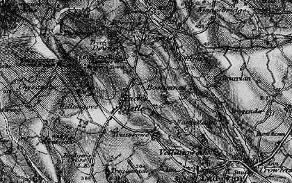 Old map of Castle Gate in 1896