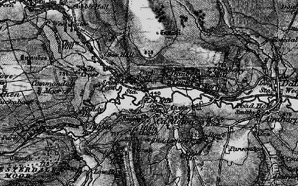 Old map of Castleton in 1898