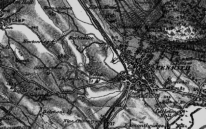 Old map of Wildriggs in 1897