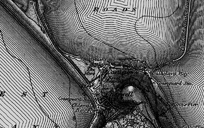 Old map of Balaclava Bay in 1897