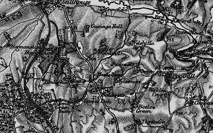Old map of Aylesmore in 1896
