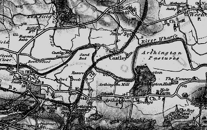 Old map of Arthington Ho in 1898