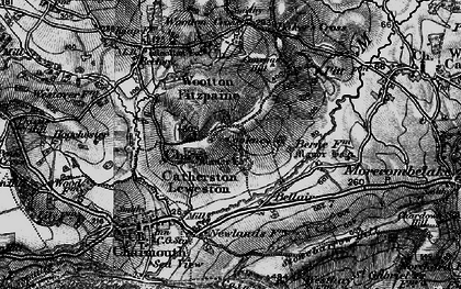 Old map of Baker's Cross in 1898