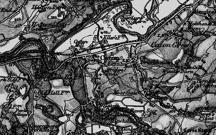 Old map of Caton in 1898