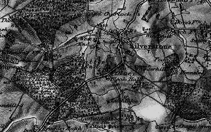 Old map of Wetley's Wood in 1896