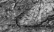 Map of Caulcott, 1896