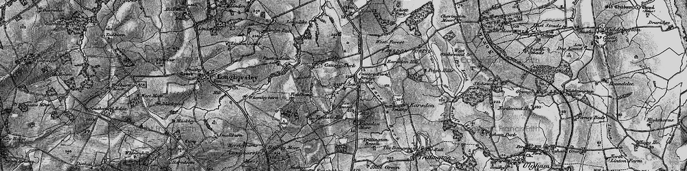 Old map of Tindale Hill in 1897