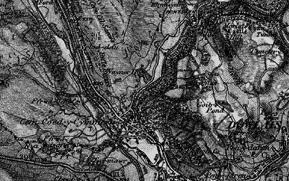 Old map of Wyrlod-ddu in 1898