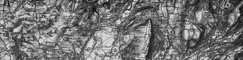 Old map of Cefn-y-Garth in 1897
