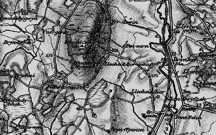 Old map of Cae Gors in 1899