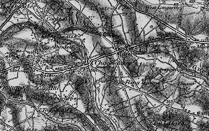Old map of Chacewater in 1895