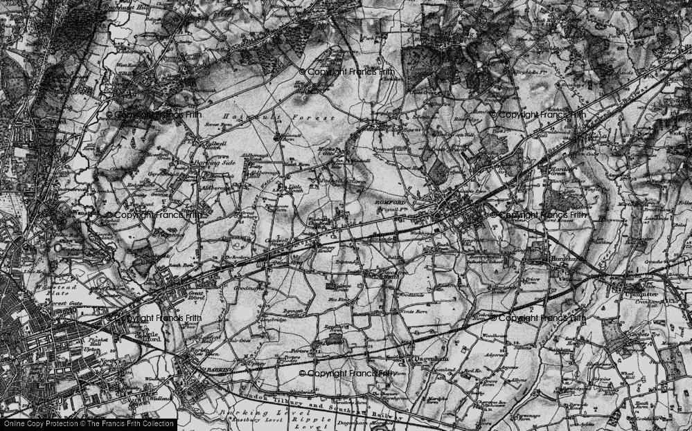 Chadwell Heath, 1896