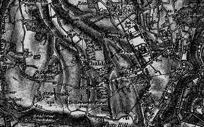 Old map of Alderstead Heath in 1895