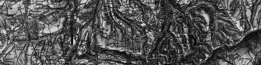 Old map of Alderstead Heath in 1895