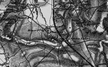 Old map of Chalton in 1896