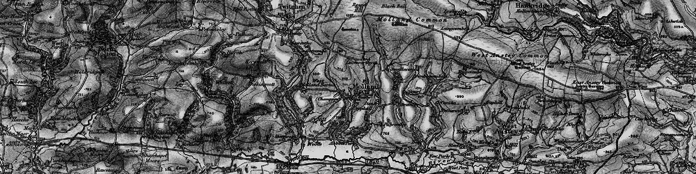 Old map of White Post in 1898