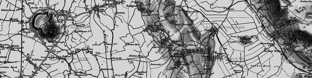Old map of Allerton Moor in 1898
