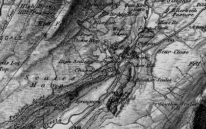 Old map of Winterscales Beck in 1898