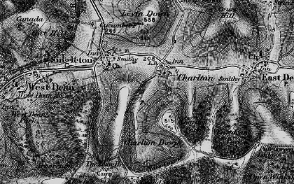 Old map of Charlton in 1895