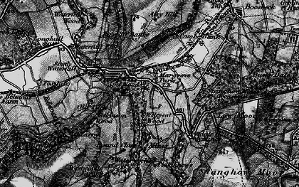 Old map of Westworth Wood in 1898