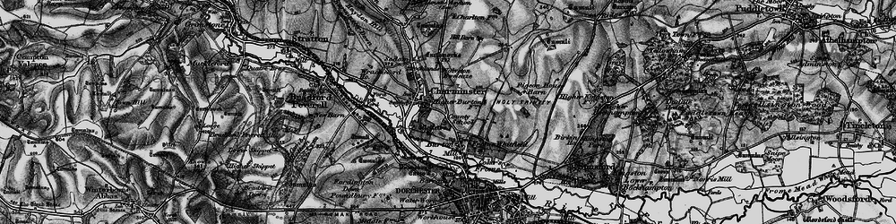 Old map of Wolfeton Ho in 1897