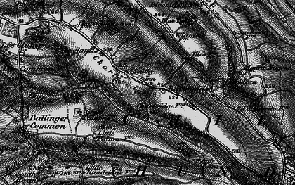 Old map of Chartridge in 1896