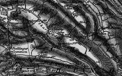 Old map of Asheridge in 1896