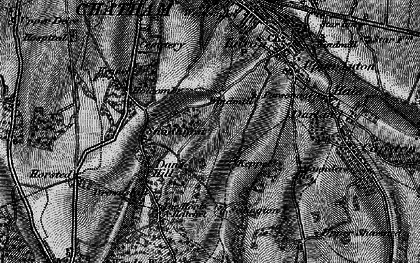 Old map of Chatham in 1895
