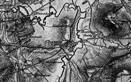 Old map of Chatton in 1897