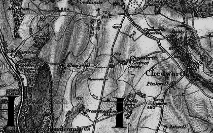 Old map of White Way in 1896