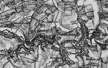 Old map of Winswood Moor in 1898