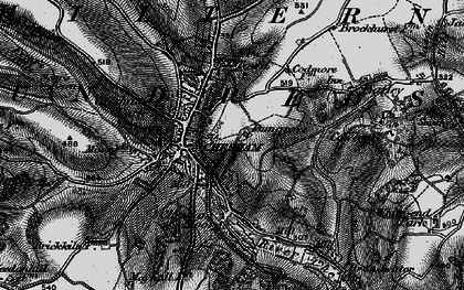 Old map of Chesham in 1896