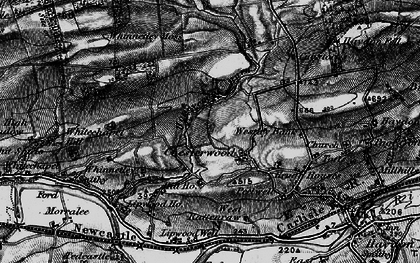 Old map of Westley Bank in 1897