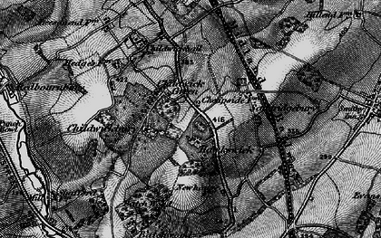 Old map of Childwick Green in 1896