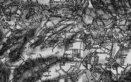 Old map of Tibb's Court in 1895