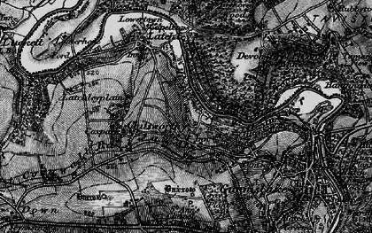 Old map of Chilsworthy in 1896