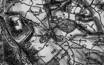 Old map of Chiltern Green in 1896