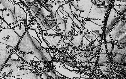 Old map of Chipmans Platt in 1896