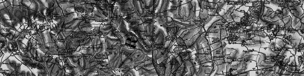 Old map of Chipping in 1896