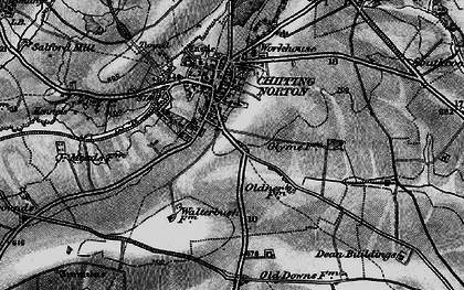 Old map of Chipping Norton in 1896
