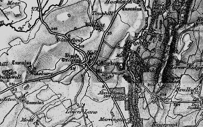 Old map of Bank in 1899