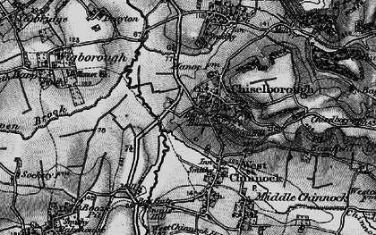Old map of Balham Hill in 1898
