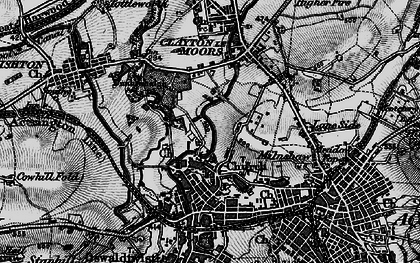 Old map of Church in 1896